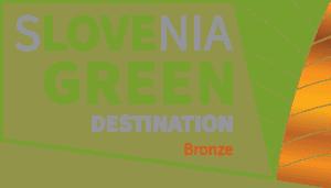 Slovenia Green destination Celje Bronze
